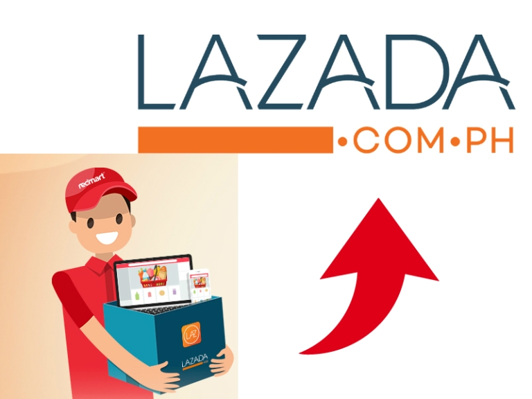 red and lazada